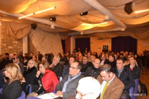 Sala conferenze Villa Barile