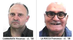 Cammarata vincenzo e Francesco La Rocca