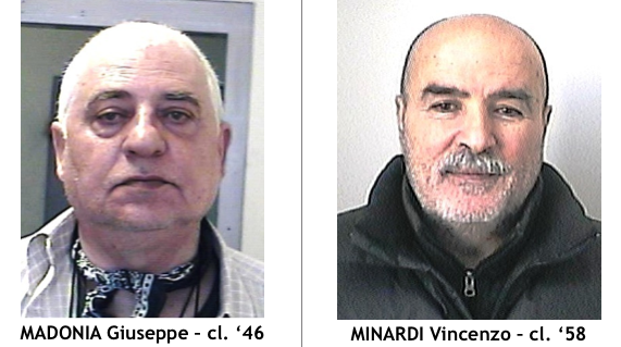 Madonia Piddu Giuseppe e Minardi vincenzo