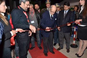 Ugo Gregoretti taglia il nastro per l'inaugurazione del Kalat 2014