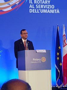 Valerio Cimino al Congresso Rotary (1)
