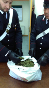 il sequestro operato dai Carabinieri di Riesi
