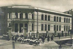 antica foto della scuola Santa Lucia di Caltanissetta