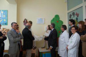 ludoteca pdiatria inaugurazione
