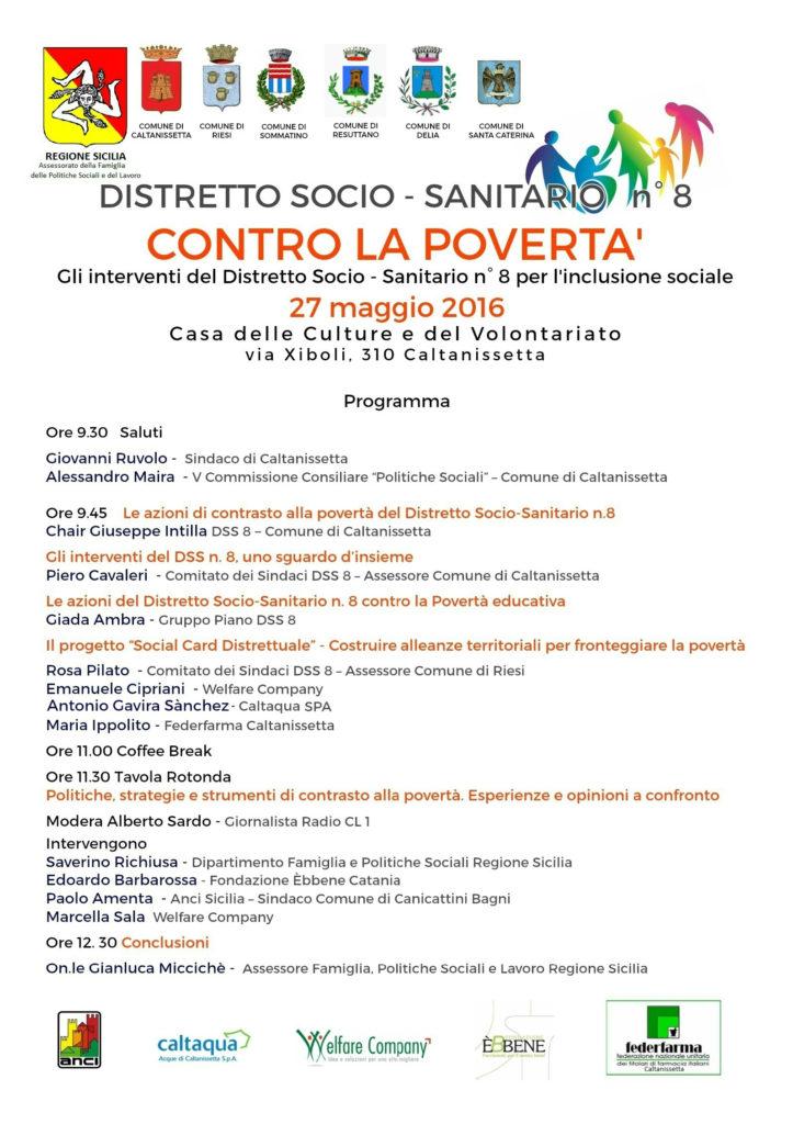 povertà Caltanissetta