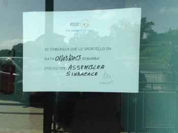 sciopero Ato
