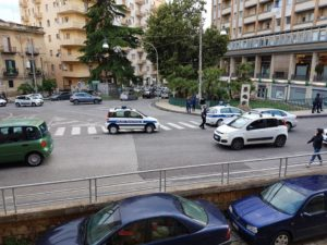 traffico in tilt vigili urbani