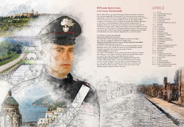 Calendario Storico Carabinieri 2019.Presentato A Caltanissetta Il Calendario Storico Dell Arma