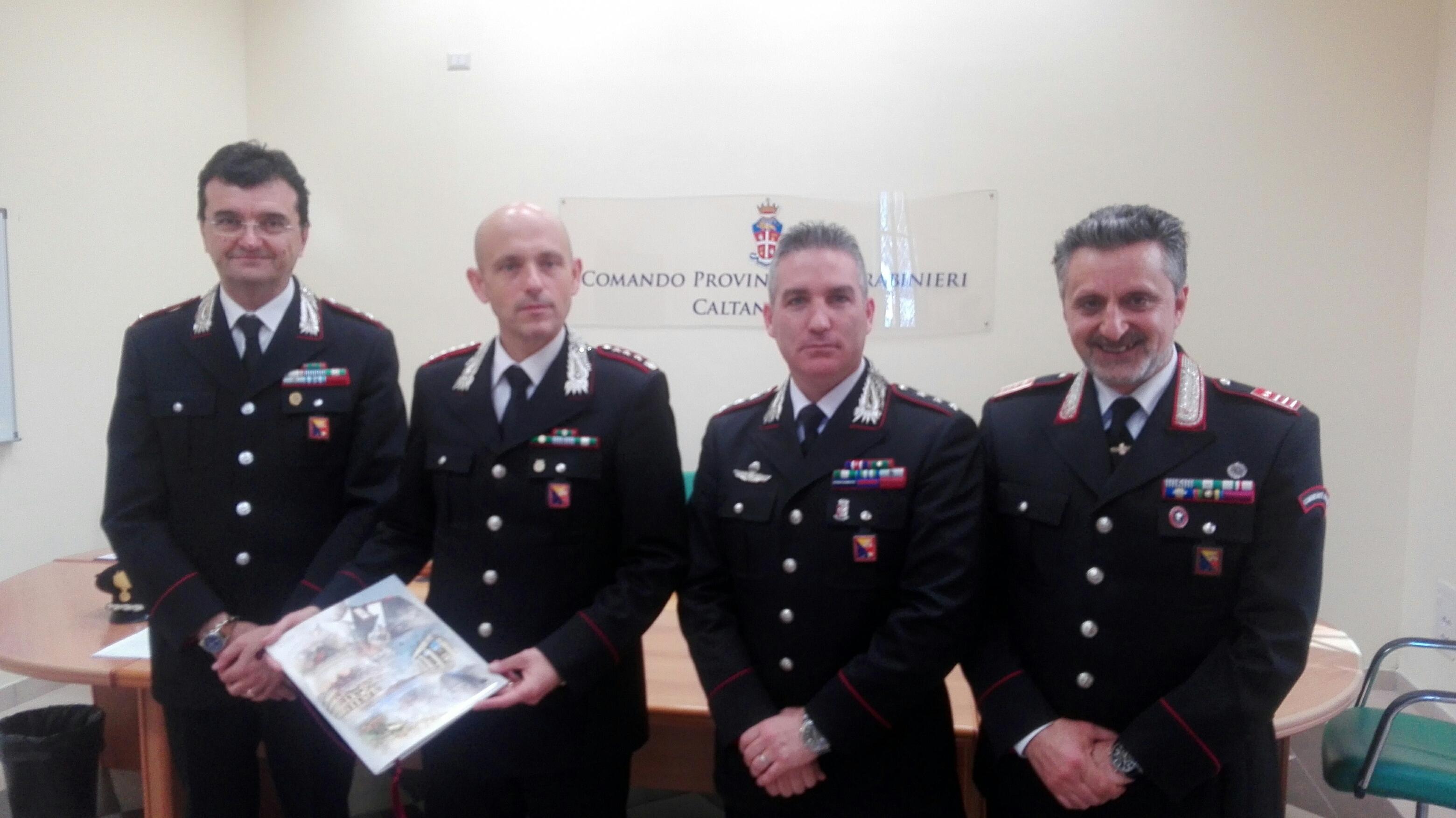 Calendario Carabinieri.Presentato A Caltanissetta Il Calendario Storico Dell Arma