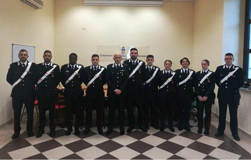 A Caltanissetta arrivano dieci carabinieri neopromossi - Radio CL1